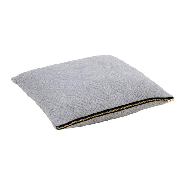 Světle šedý polštářek House Nordic Ferrel, 45x45cm