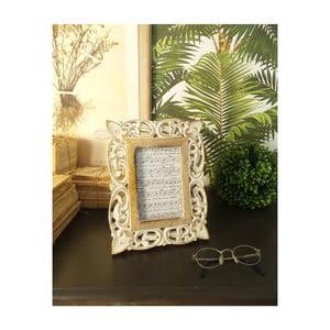 Sada 2 rámečků z mangového dřeva Orchidea Milano Citadela, výška 26 cm
