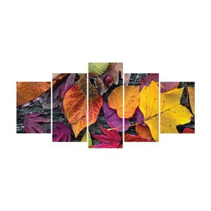Vícedílný obraz La Maison Des Couleurs Leaves