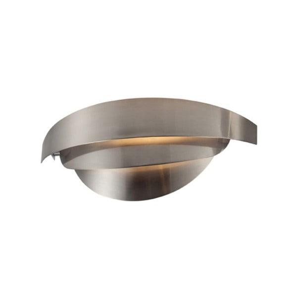 Šedé nástěnné svítidlo Mask,30x9cm