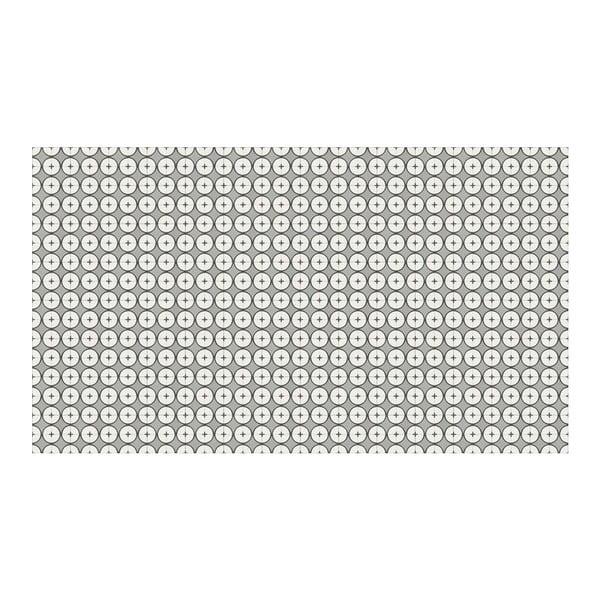 Vinylový koberec Hutun Grey, 52x140 cm
