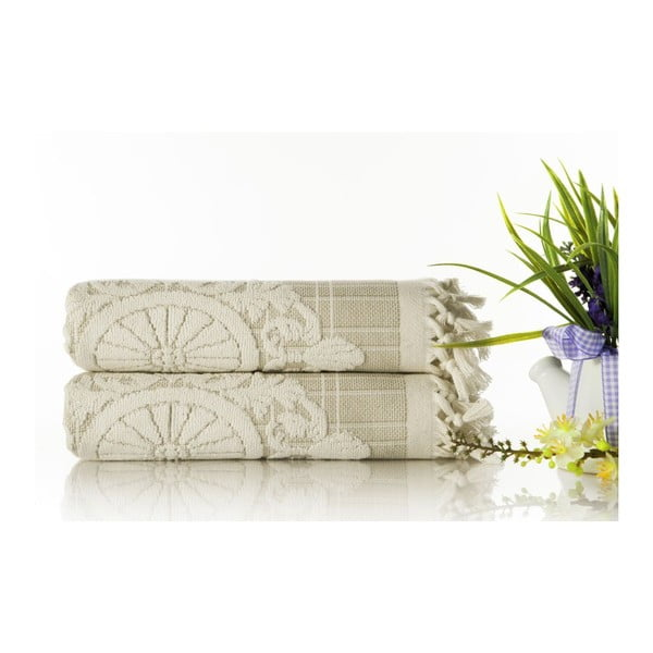 Sada 2ks ručníků Eftelya Salmon, 50x90 cm