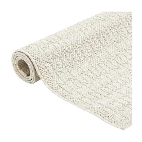 Krémový vysoce odolný koberec Webtappeti Stuoia, 200x290cm