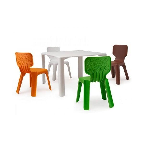 Scaun pentru copii Magis Alma, maro