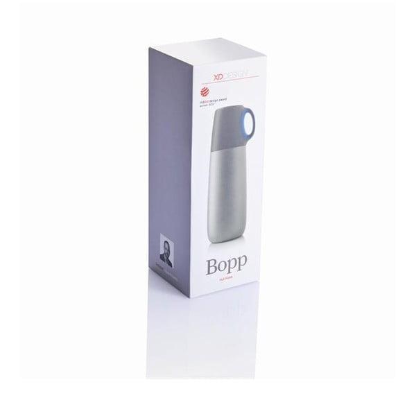 Modrá termoska s hrníčkem XD Design Bopp,600ml