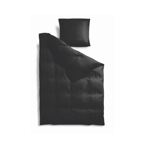 Povlečení 140 x 200 cm, černé