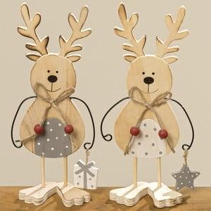 Set 2 figurine decorative Boltze Lupo