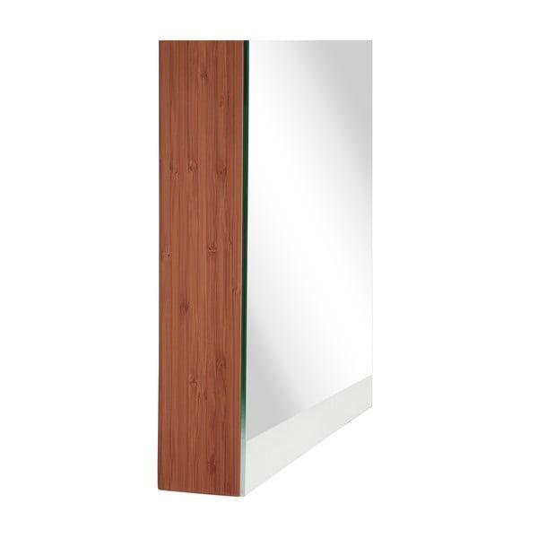 Zrcadlová skříňka, bambus