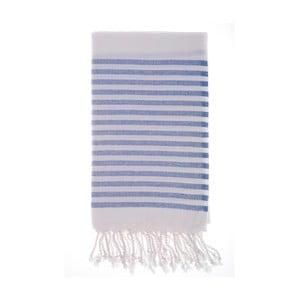 Hamam osuška Efes Blue, 100x180 cm