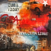 Freja Cuba Today, 100x100 cm