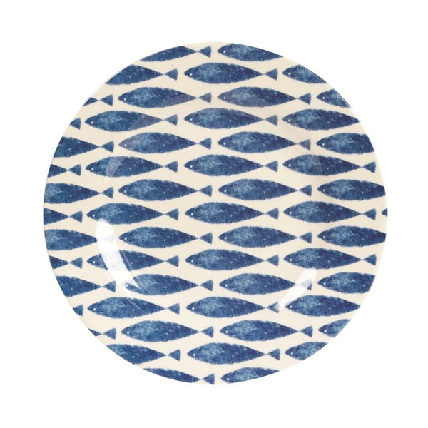 Melaminový talíř Couture Fishie, 20.3 cm