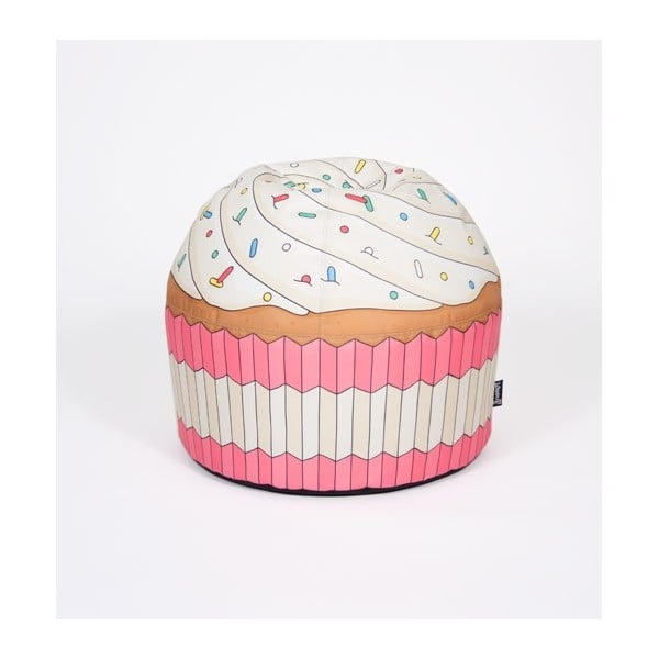 Puf ve tvaru dortíku Cupcake Pink