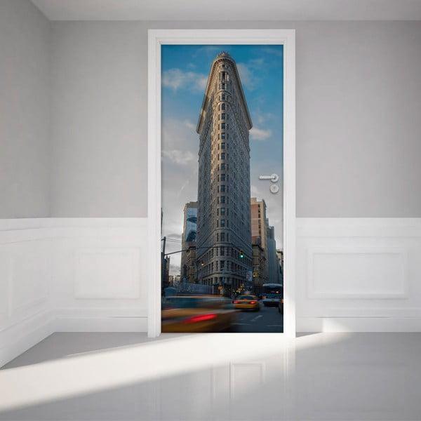 Samolepka na dveře NY Flatiron