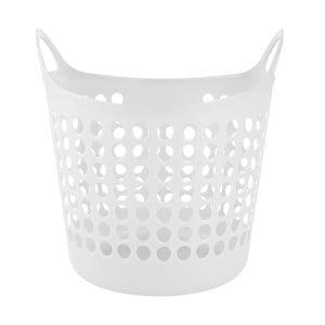 Koš na prádlo Galzone, bílý