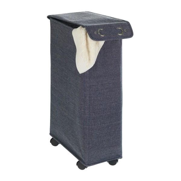 Granatowy kosz na pranie Wenko Corno, 44,4 l