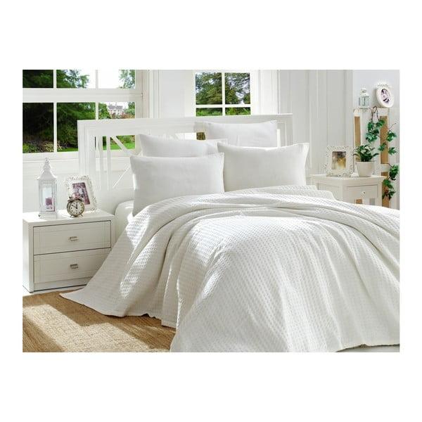 Set din bumbac pentru dormitor Double Pique 220 x 240 cm