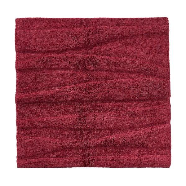 Flow borvörös fürdőszobai kilépő, 65 x 65 cm - Zone