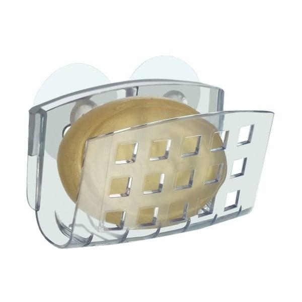 Stojan na mýdlo s přísavkou iDesign Soap Cradle