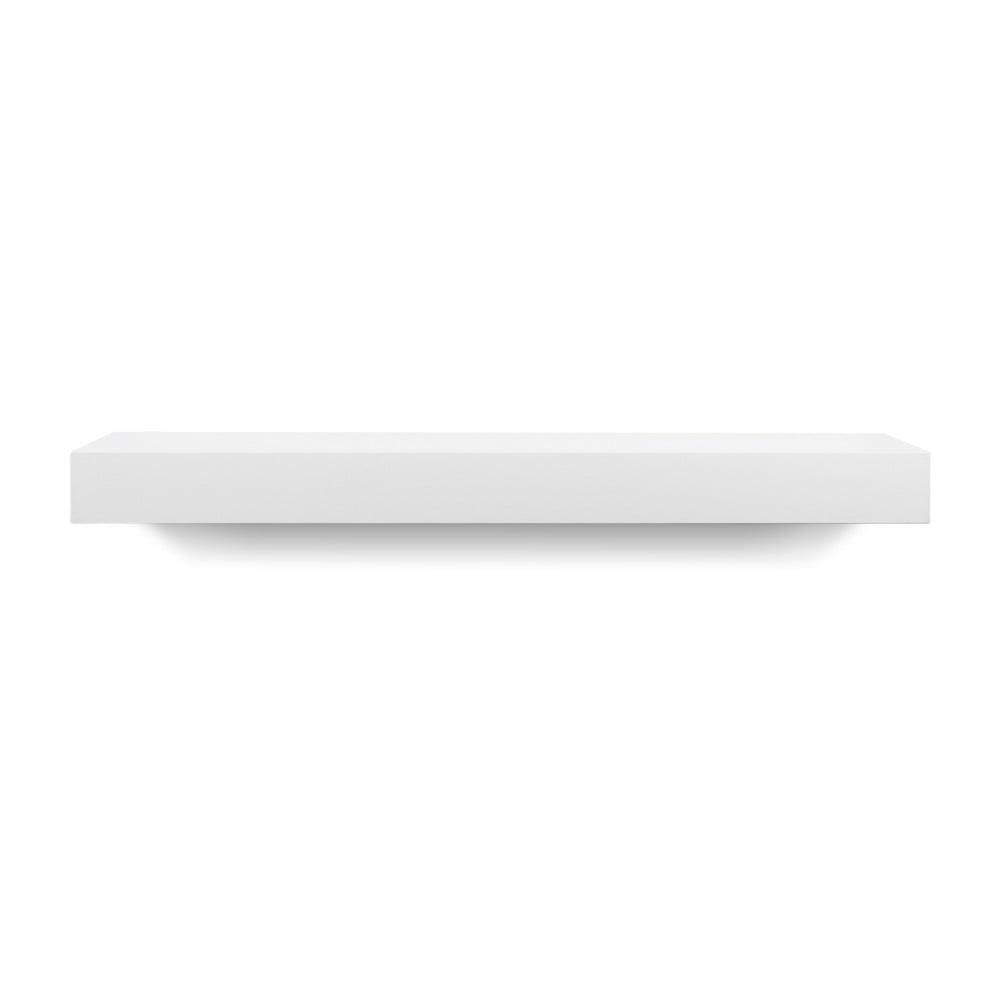 Bílá polička TemaHome Balda, šířka 60 cm