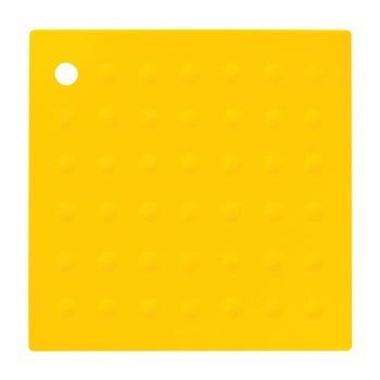 Suport din silicon pentru cană Premier Housewares Zing, galben imagine