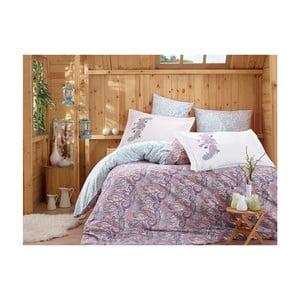 Lenjerie de pat cu cearșaf Giulia, 200 x 220 cm