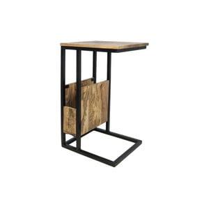 Příruční stolek z mangového dřeva HSM collection Carro