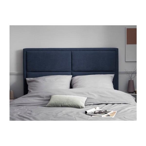 Modré čelo postele HARPER MAISON Gala, 160 x 120 cm