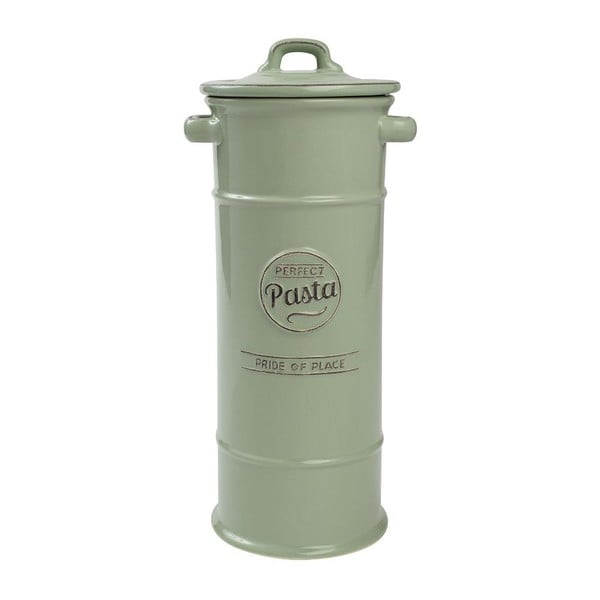Doză ceramică pentru paste făinoase T&G Woodware Pride of Place, verde