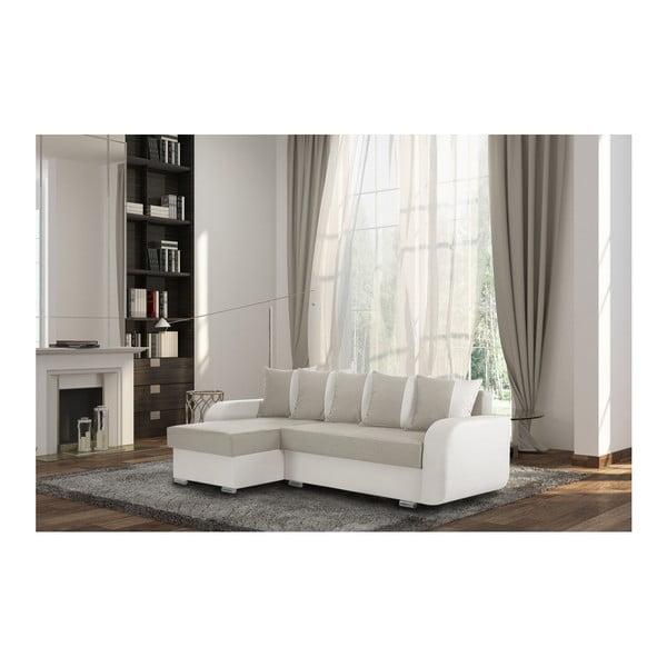 Krémová sedačka Interieur De Famille Paris Destin, levý roh