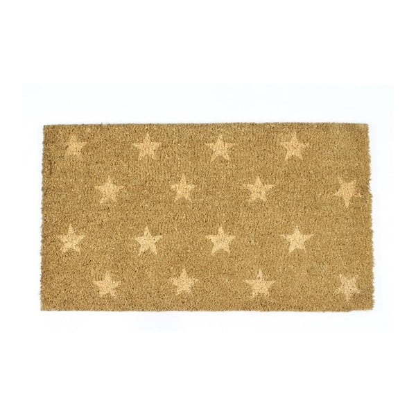 Rohožka With Beige Stars, 40x70 cm