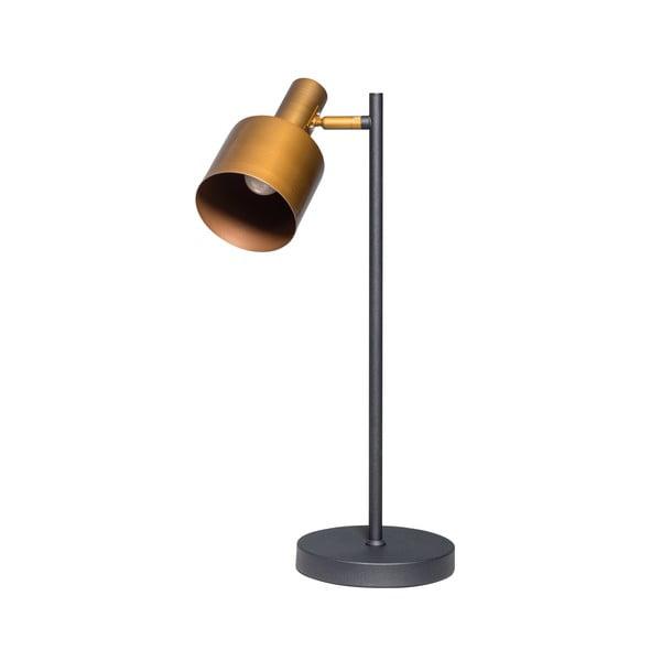 Stolní lampa v černé a zlaté barvě ETH Sledge