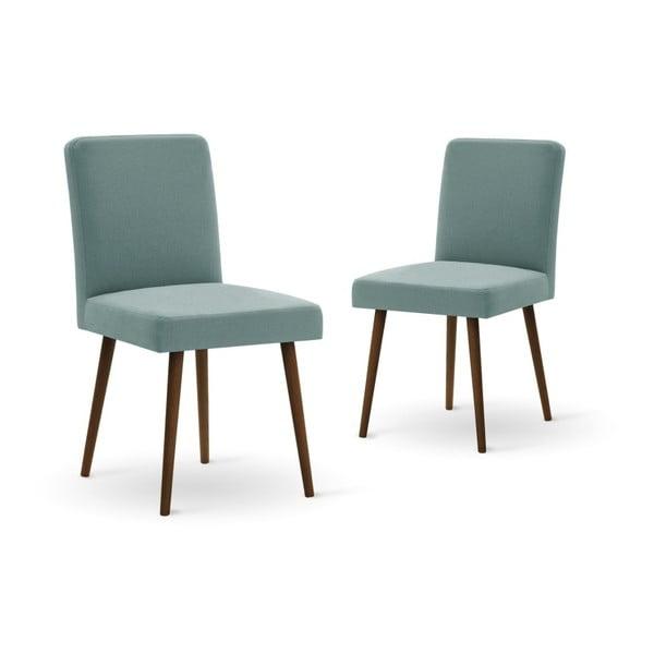 Set canapea crem, 2 scaune gri-verde, o saltea 140 x 200 cm Home Essentials
