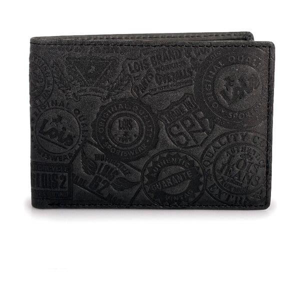 Kožená peněženka Lois Stamp, 11x8 cm