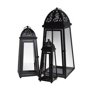 Set 3 luceren Romantic Black