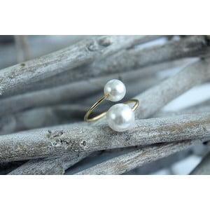 Prsten Double Pearl