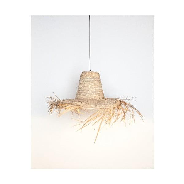 Naturalna lampa Surdic Lámpara Amaro ve tvaru klobouku, ø60 cm