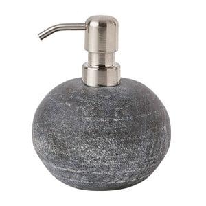 Šedý mramorový dávkovač mýdla Aquanova Flint