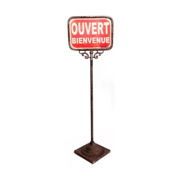 Oboustranná stojací cedulka Antic Line Ouver-Ferme