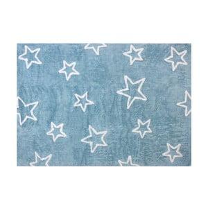 Koberec Estrella 160x120 cm, modrý