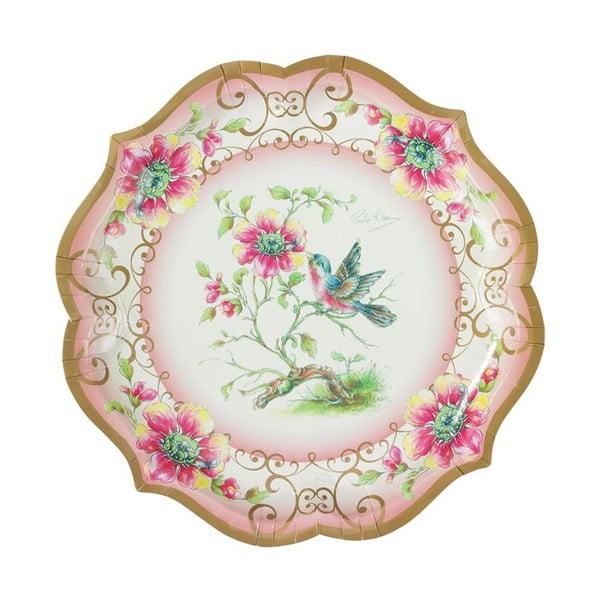 Papírové talíře Utterly Scrumptious, 4 kusy