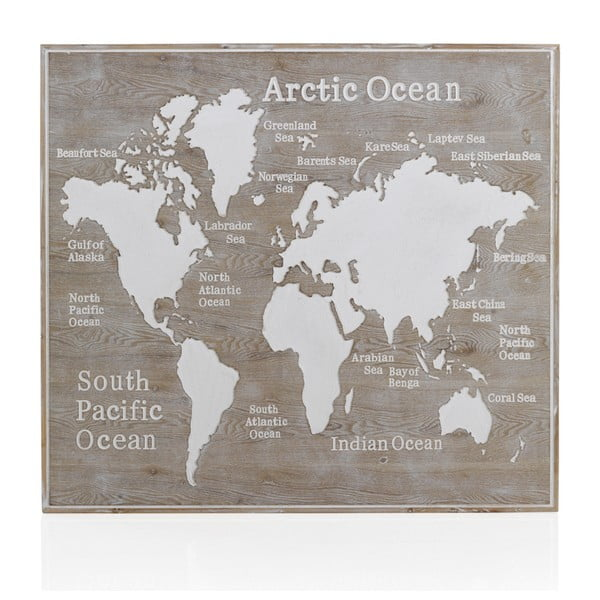 Tăblie din lemn Geese Rustico World, 100 x 110 cm