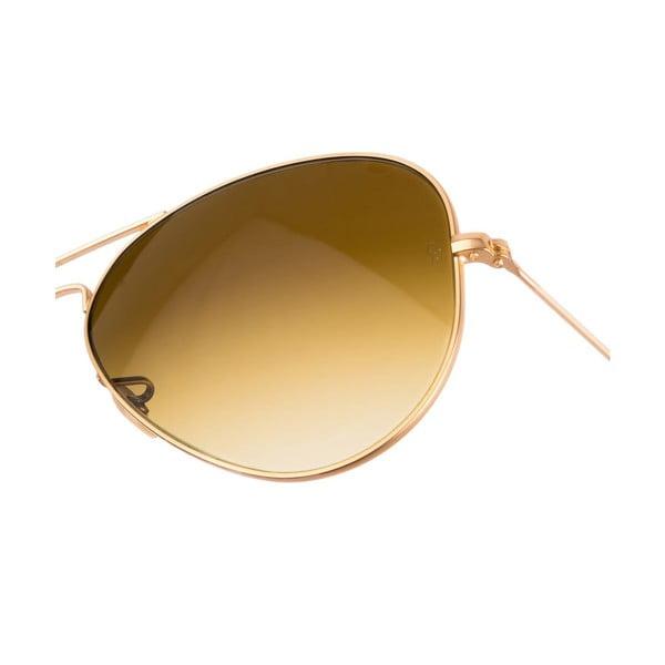 Pánské sluneční brýle Ray-Ban Aviator Flash Dorado Mate