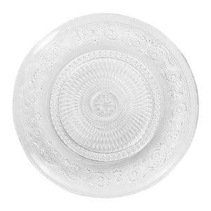 Sada 6 dezertních talířů ze skla Vidrex, 120 ml