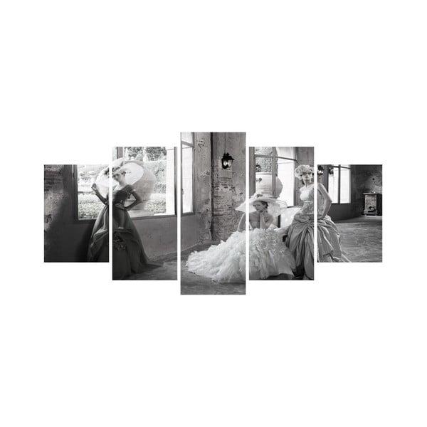 Vícedílný obraz Black&White no. 63, 100x50 cm