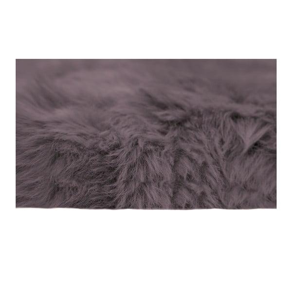 Šedohnědá kožešina Pipsa Mouton,110x80cm