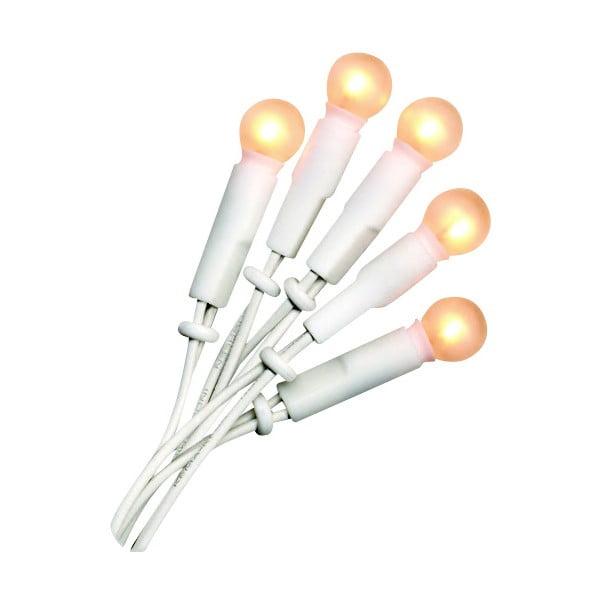 Svítící řetěz Best Season Pearl Lights White