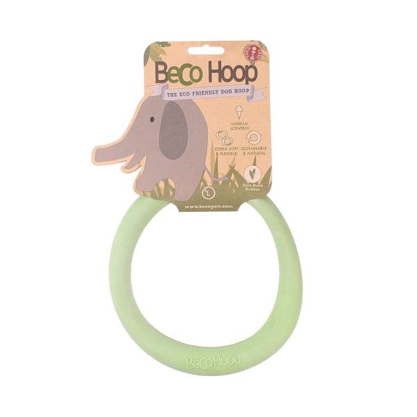 Hračka pro psa Hoop Large, zelená