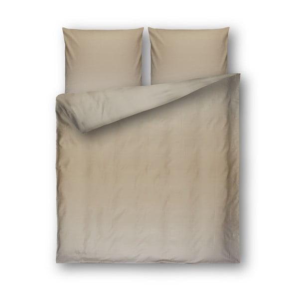 Lenjerie de pat din bumbac Casa Di Bassi Yama, 200 x 200 cm, bej