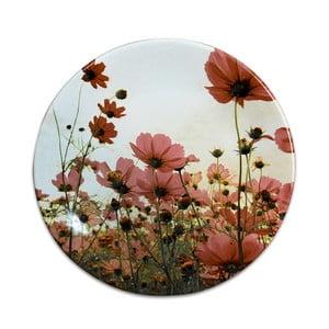 Keramický talíř Poppies, ⌀25cm