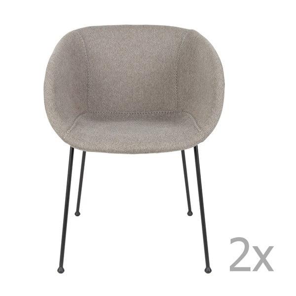Feston szürke szék, 2 db - Zuiver